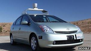 Google/Toyata Self-driving car